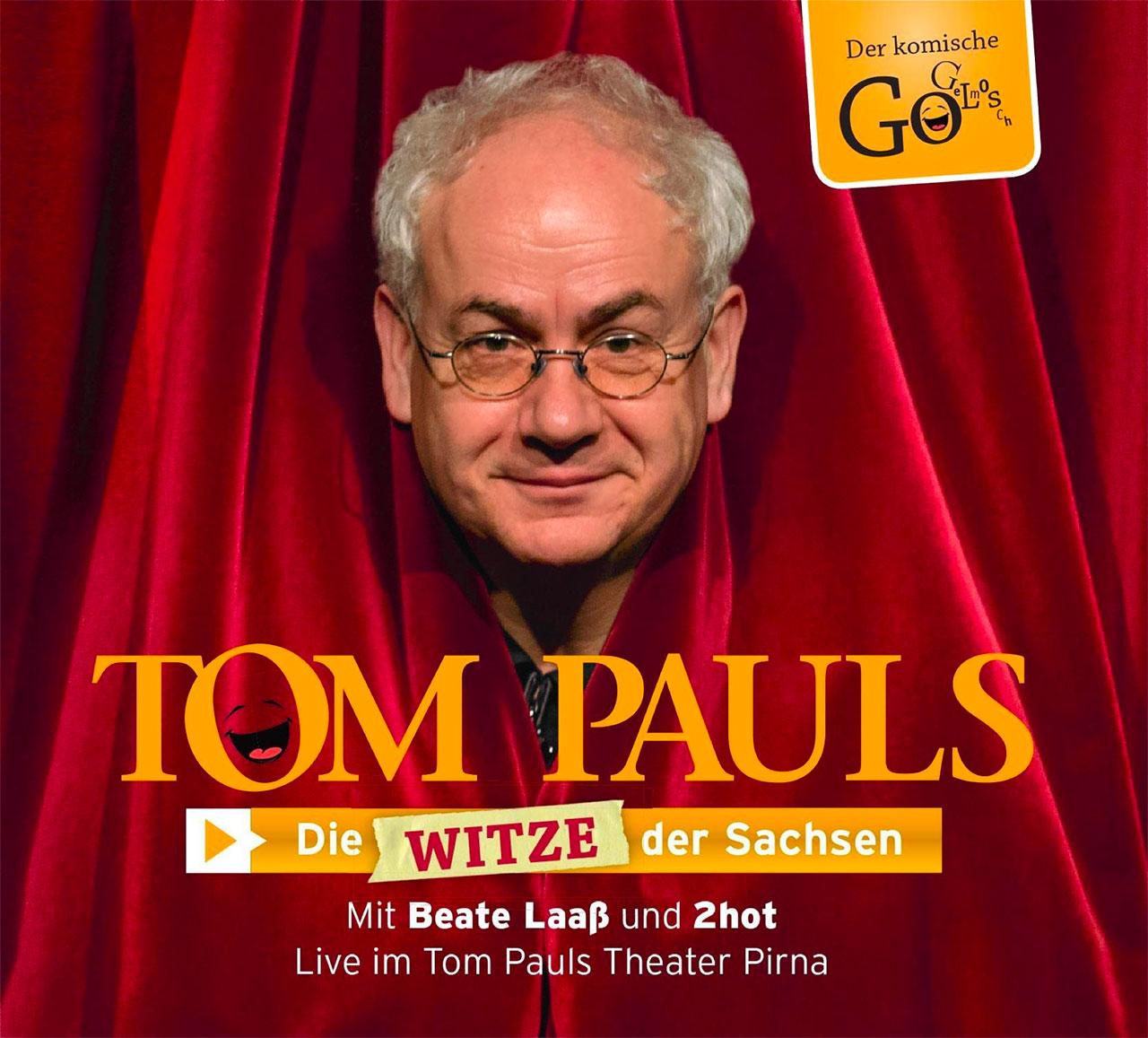CD  Tom Pauls – Die Witze der Sachsen